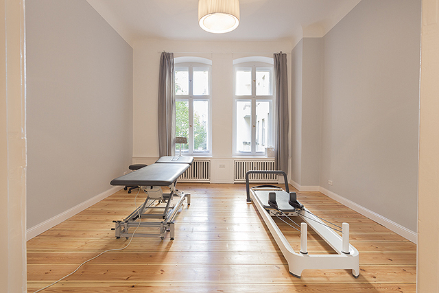 Physiotherapieraum im Pilatesstudio Charlottenburg