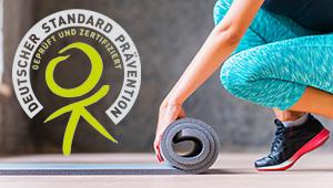 Präventionskurs Laufen & Pilates