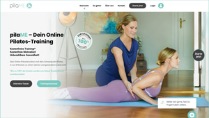 Pilates Präventionskurs Online mit Christina Frisch
